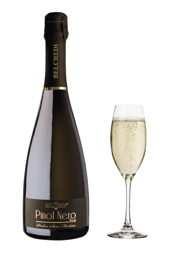 Pinot Nero Spumante Brut D.O.C. Cantina Belcredi Oltrepò Pavese