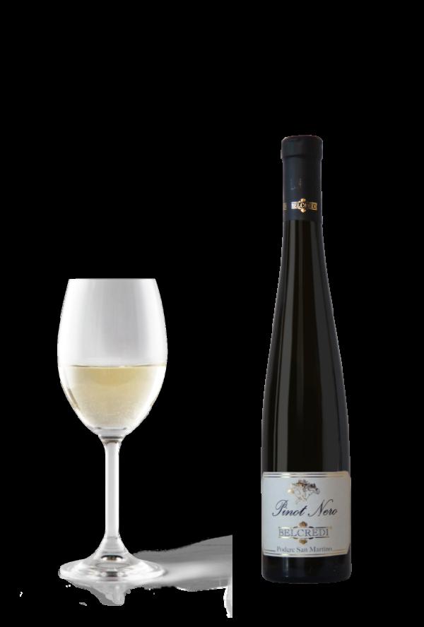 Pinot Nero in bianco frizzante renana Cantina Belcredi Oltrepò Pavese Podere San Martino